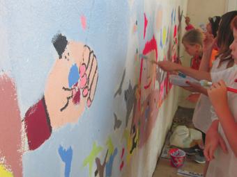 Fresque Gulliver