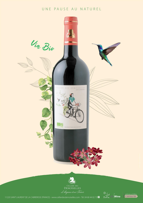 Vin bio du Cellier des Demoiselles