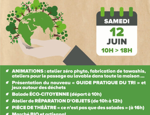 12 Juin 2021 : Journée de l'Environnement
